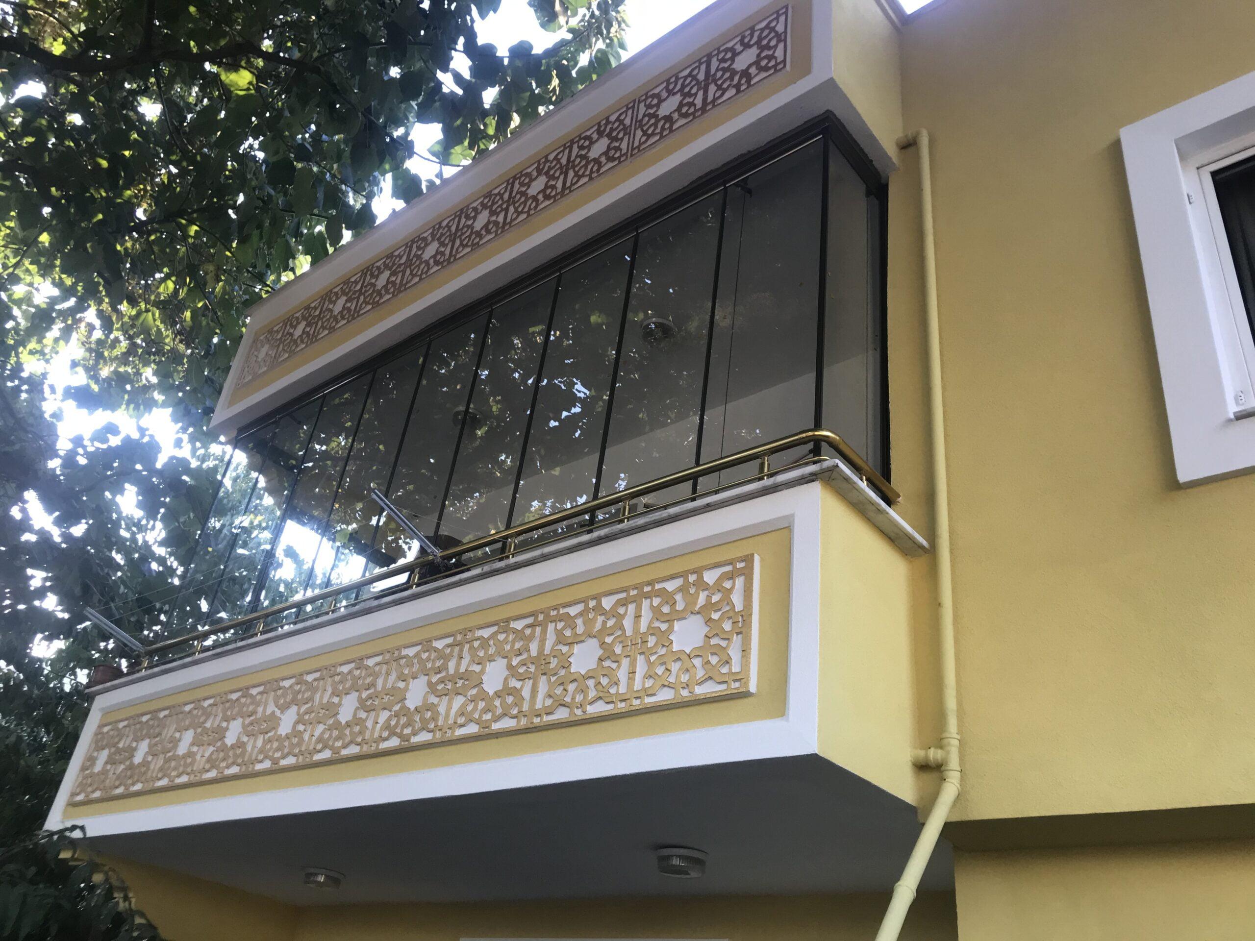 Isıcamlı Katlanır Cam Balkon010