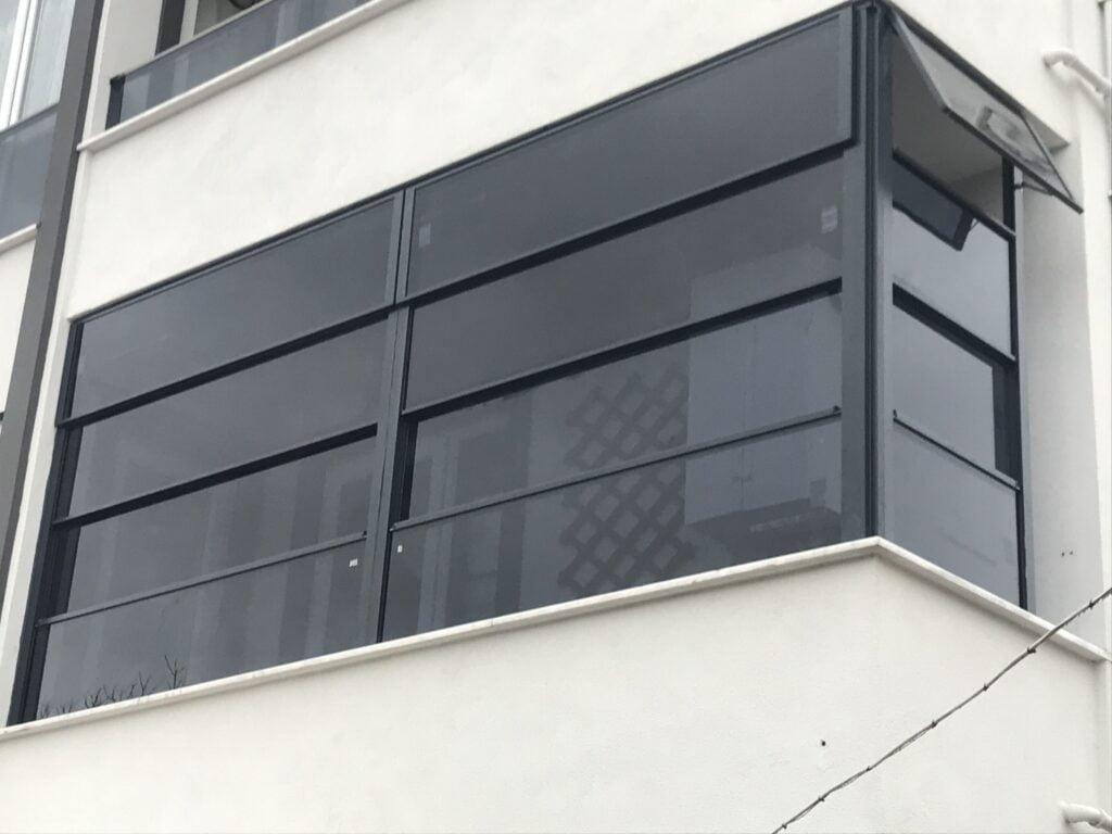 panaromik cam balkon